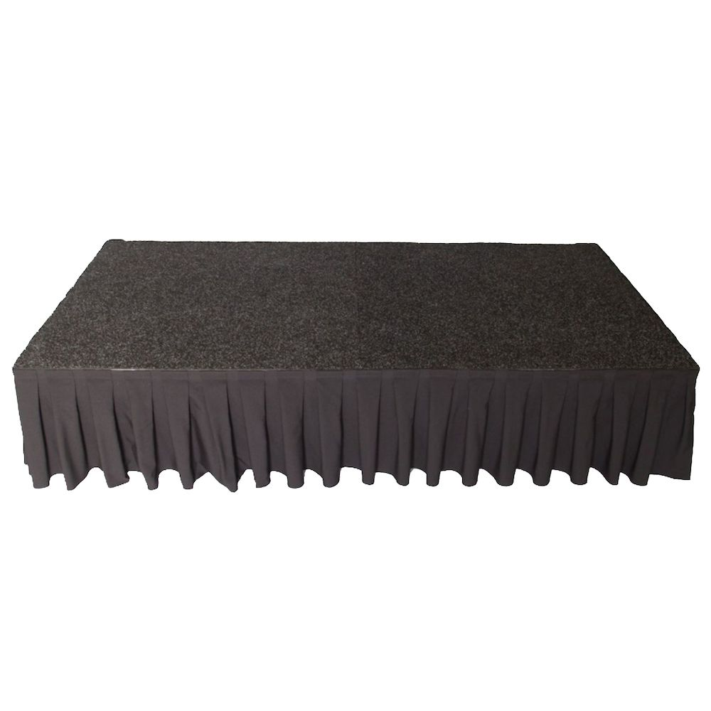 Podiumrok zwart 20 cm
