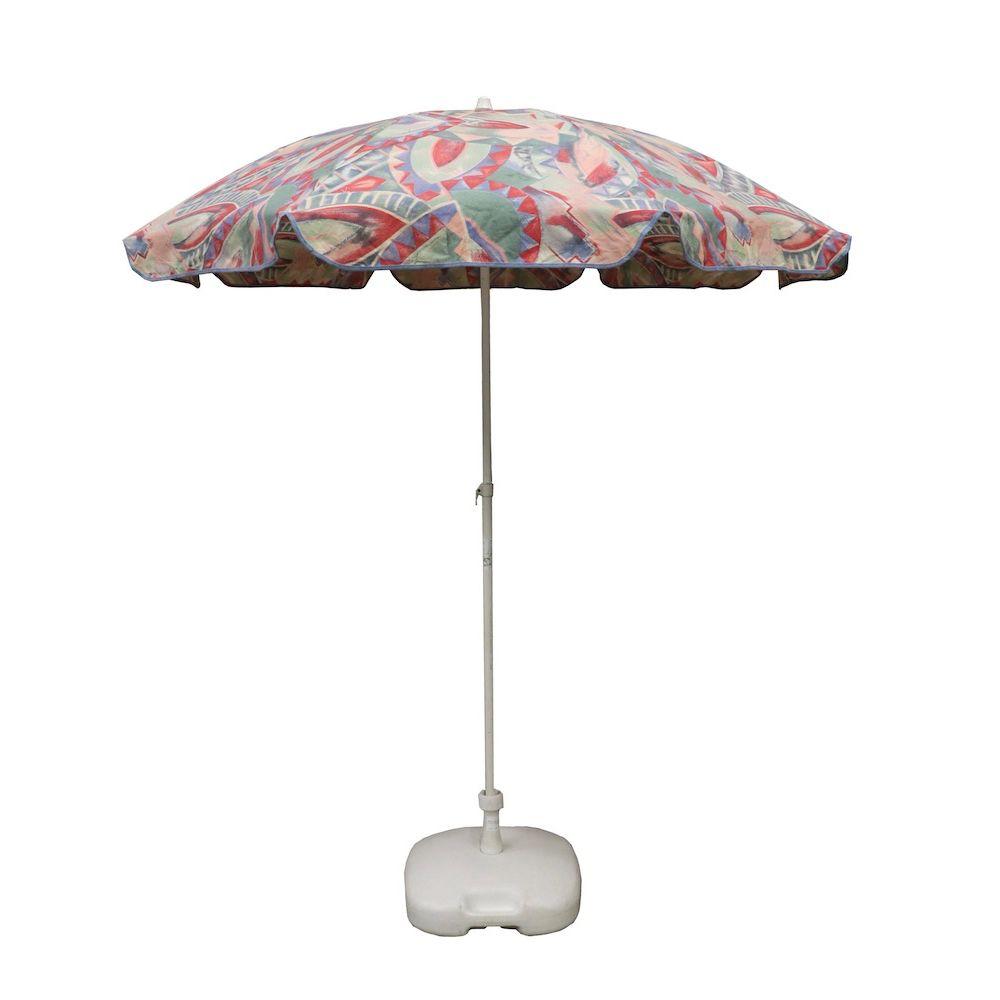 Parasol klein pasteltint & voet