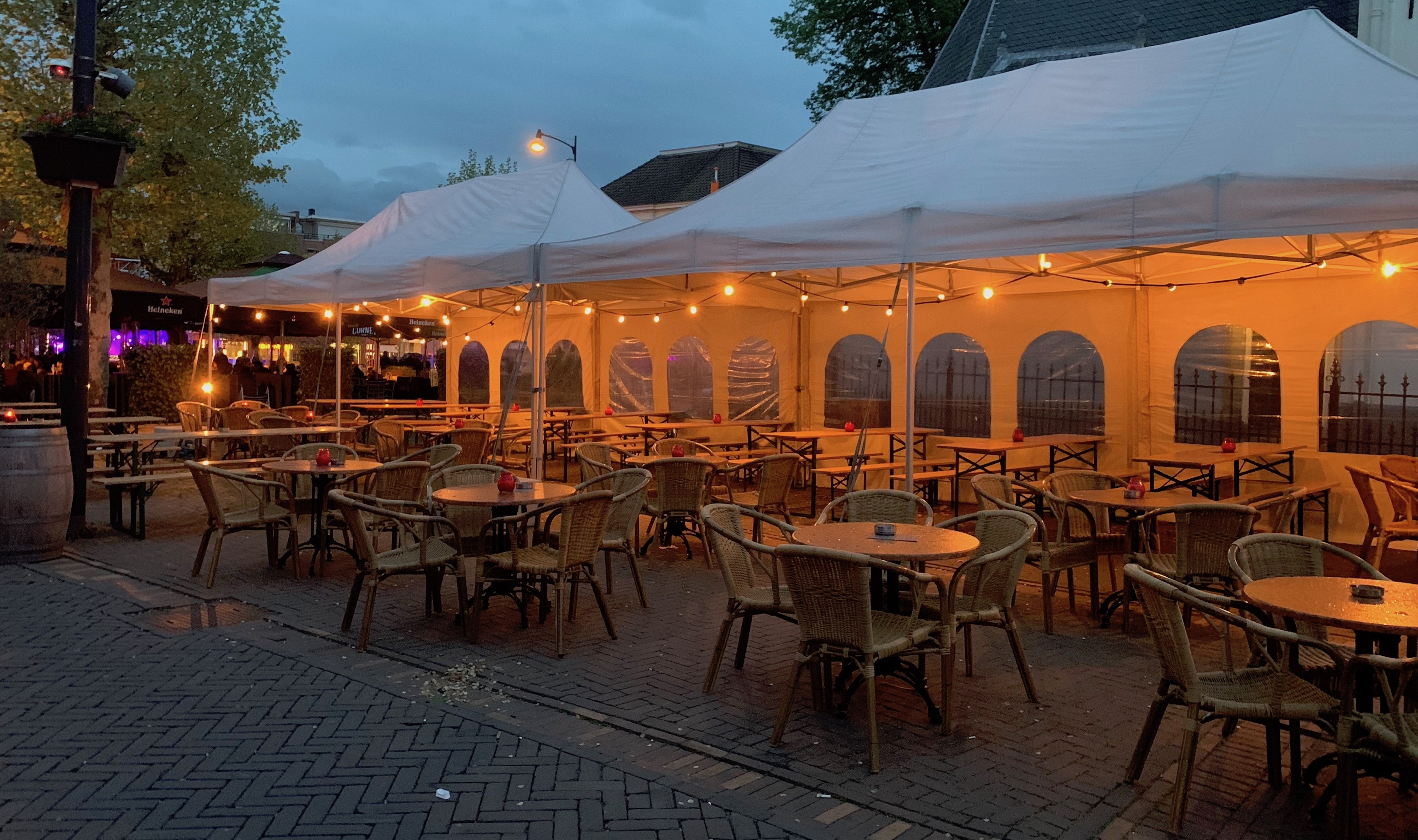 Tent markt