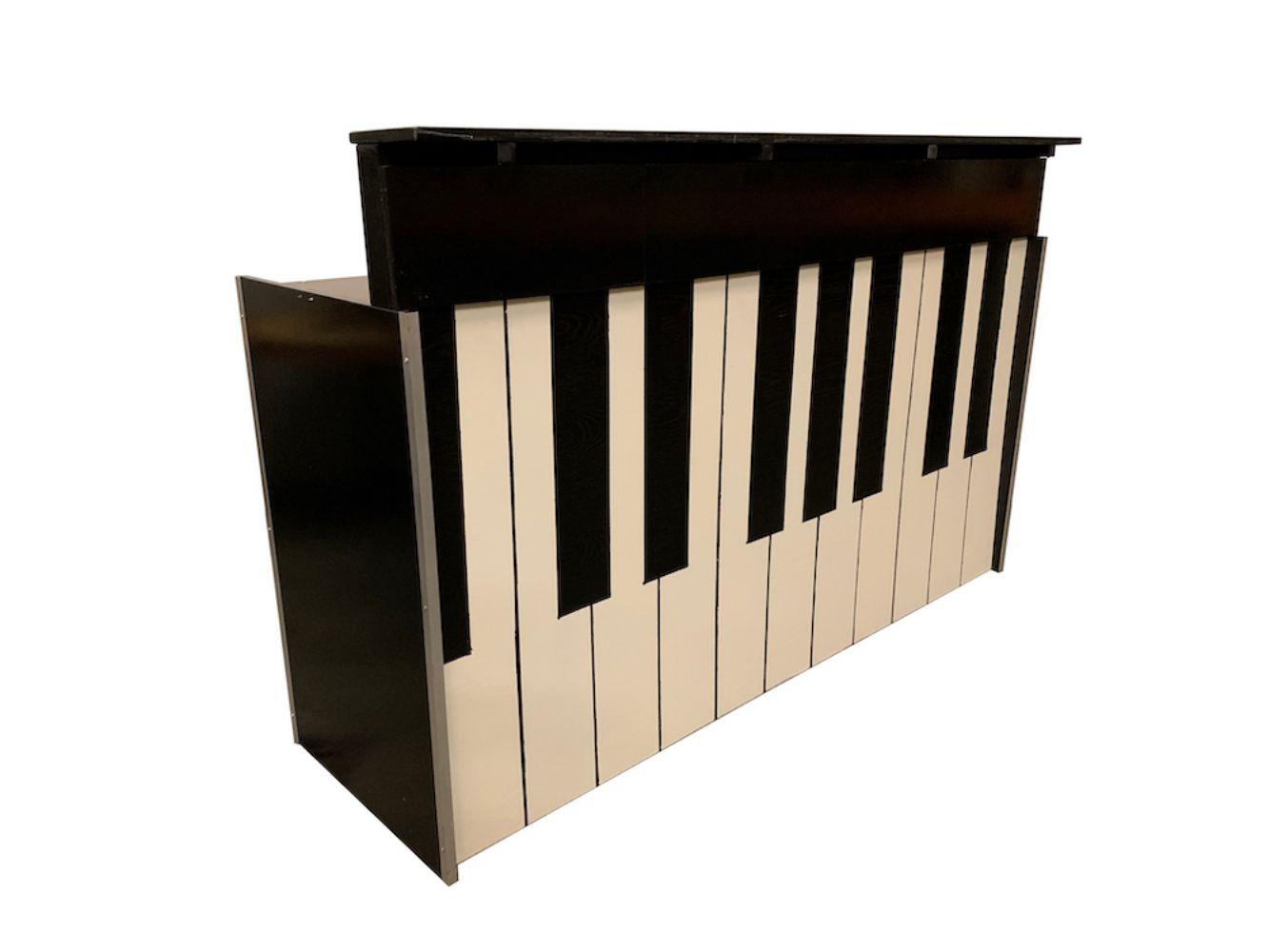 Bar buffet pianolook