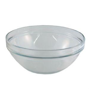 Schaal ( Glazen schaal rond)
