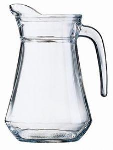 Glazen schenkkan 1 Ltr.