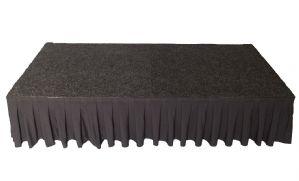Podiumrok zwart 60 cm