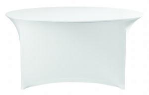 Rok voor klaptafel 120 rond Wit