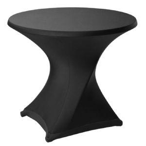 Rok voor terrastafel Zwart